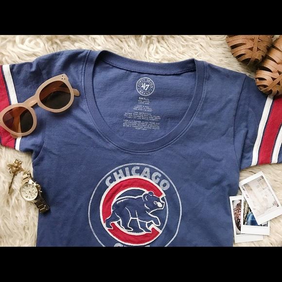 reputable site ea460 2420d ❤️ Cubs Shirt Chicago Cubs CUTE T-Shirt NWT 47 NWT